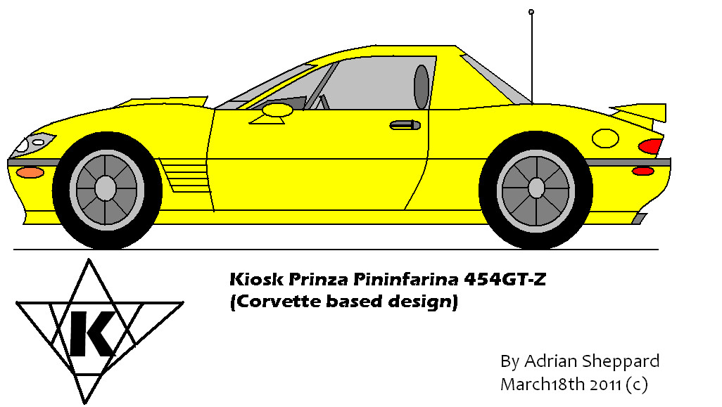 Kiosk Prinza Pininfarina 454GT-Z by adsheppard