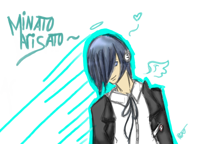 Minato Arisato by BlossomHeart