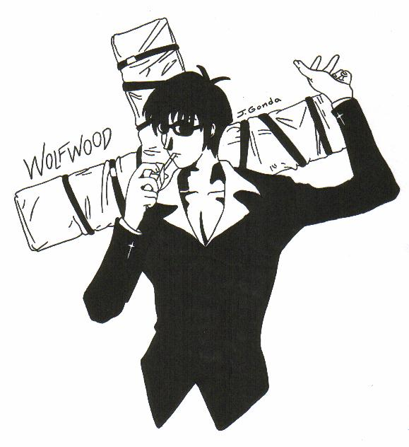 Wolfwood by DarkFangDragon