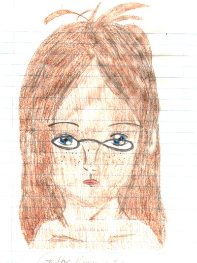 Maggie's Self Potrait by gothicmermaid05