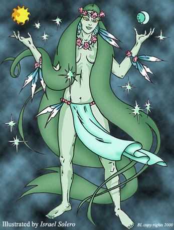 alpha: ITIBA CAHUBABA (Earth goddess) by jira