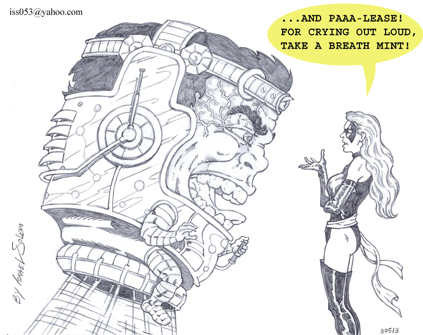 Ms. Marvel confronts Modok by jira