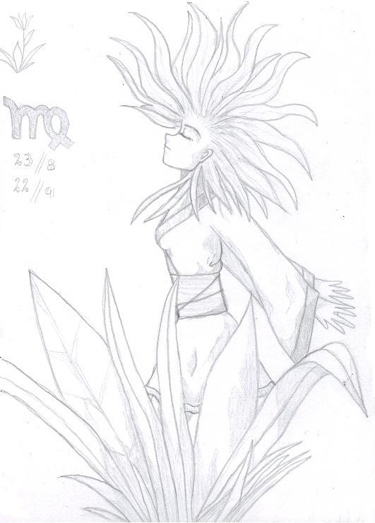 Manga Zodiacs - Virgo by Kiari