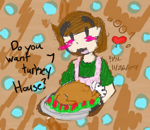 Happy Turkey Day from KL!! by Kirbyluva11