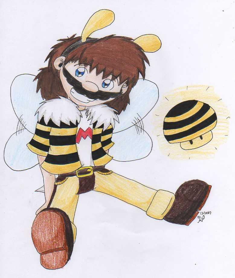 The Shrooms and the Bees by Nintendo_Nut