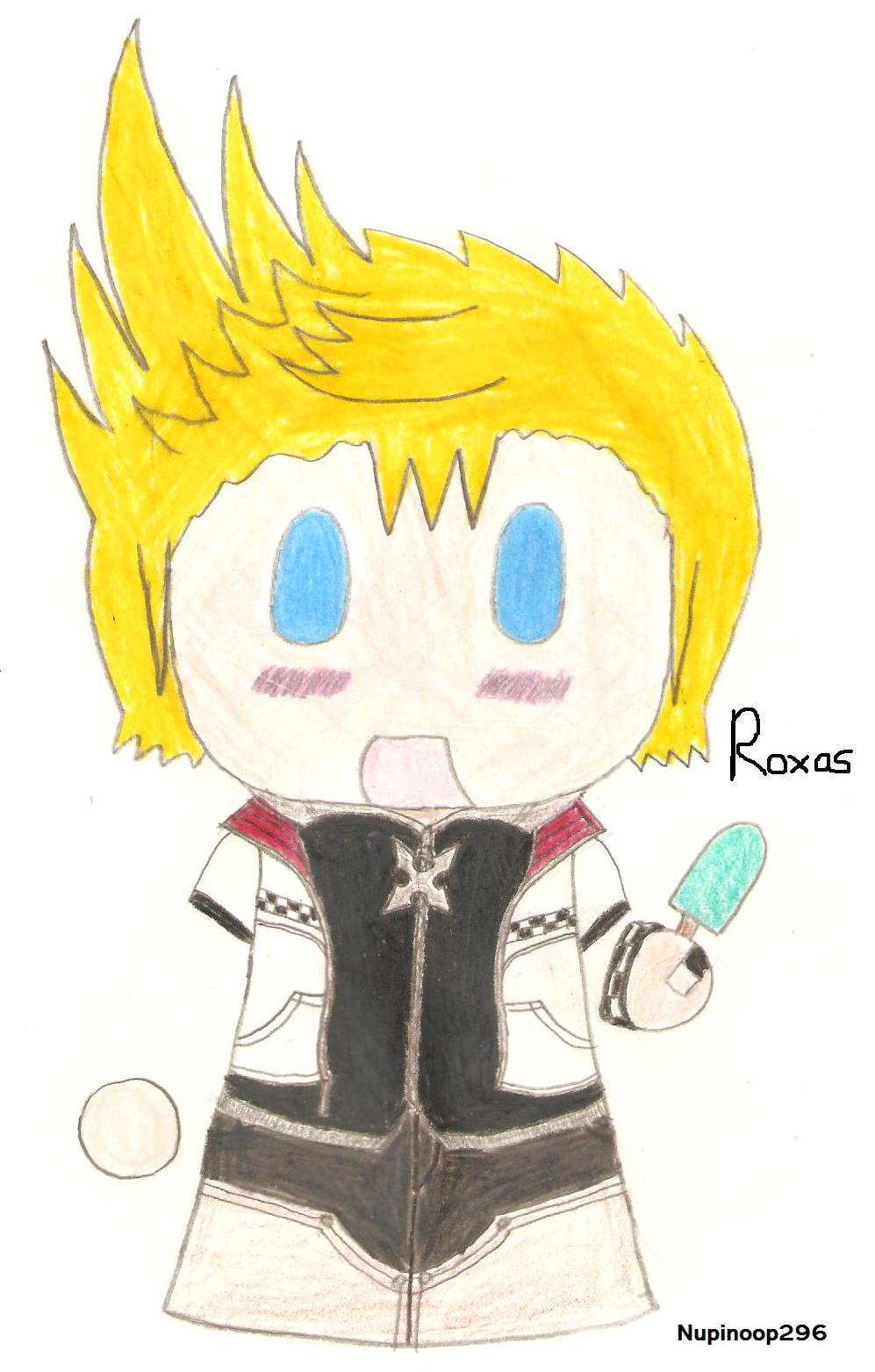 Chibi Roxas by nupinoop296