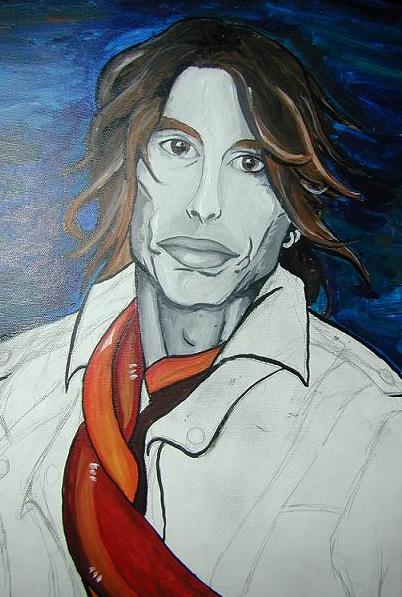 Steven Tyler by SignePerry