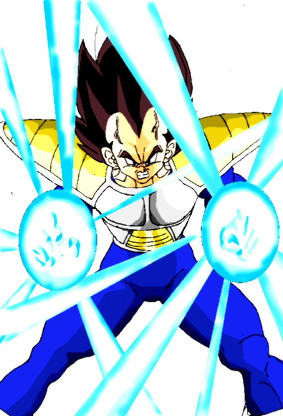Vegeta Energy Dan by Stitchking