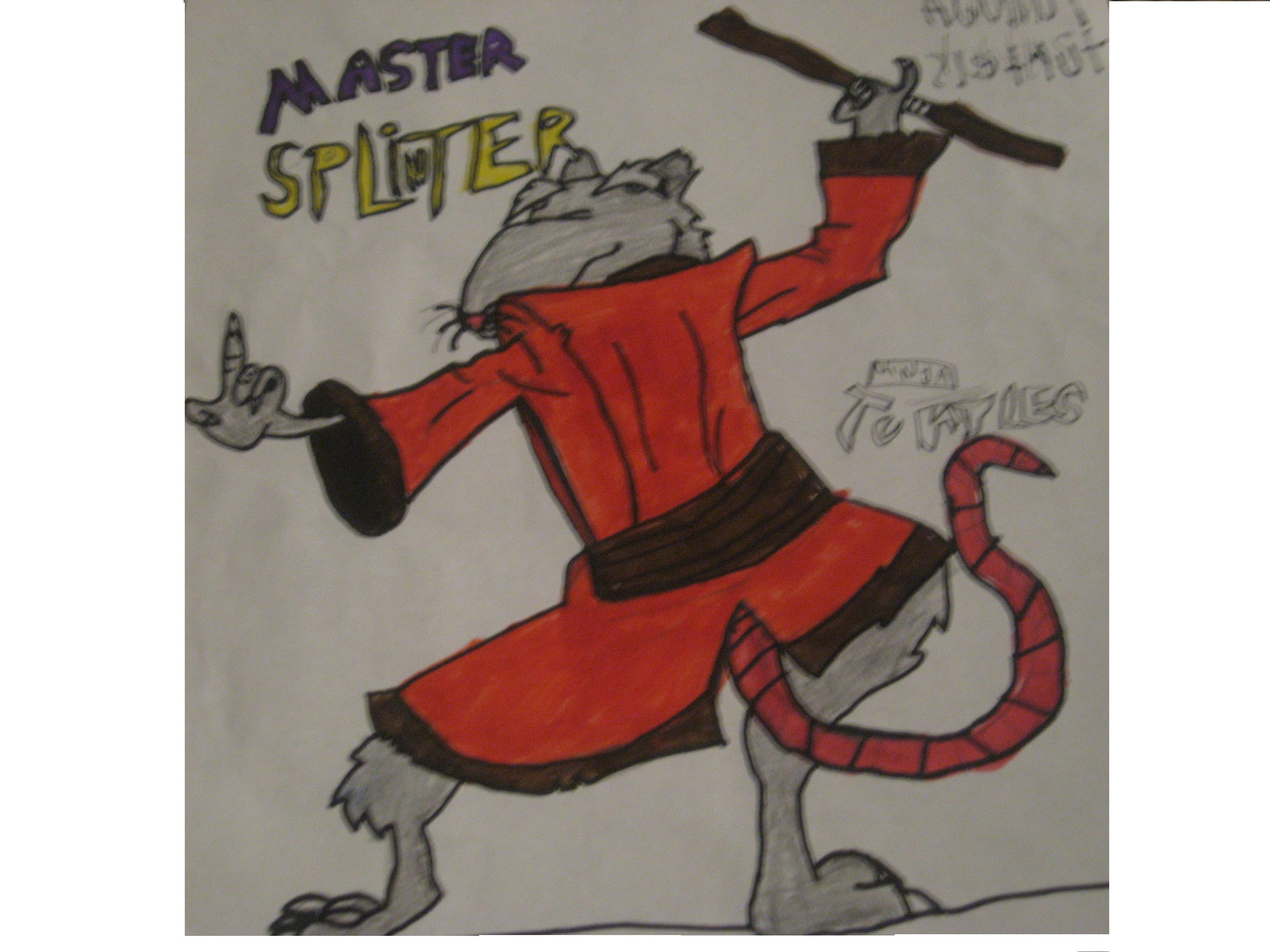 Master Splinter by splatcat909