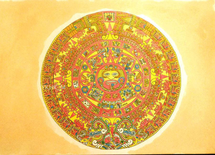 Calendario Maya by Yoko_KH