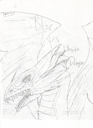 Blue Eyes White Dragon by ZoidsManiac
