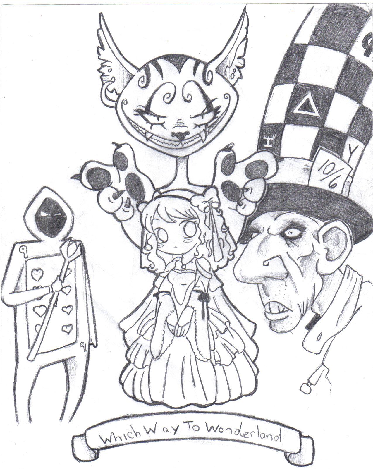 Which Way To Wonderland by 2hot4u123
