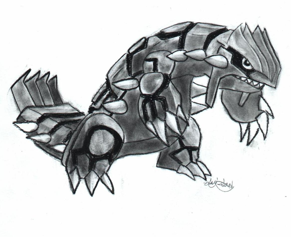 Groudon by 2ki_sugar_gliders