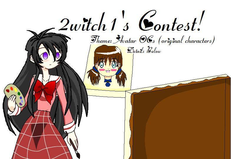 Avatar Contest! by 2witch1