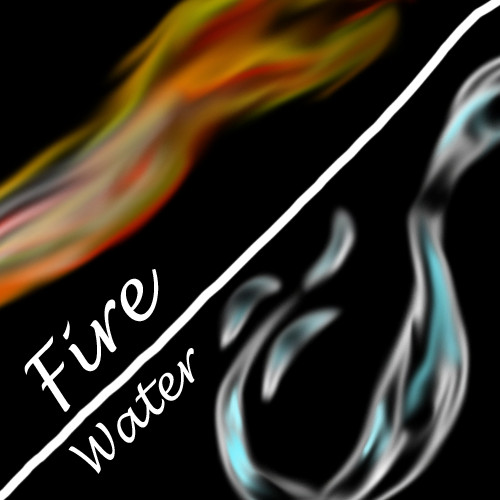 Fire & Water by 2witch1