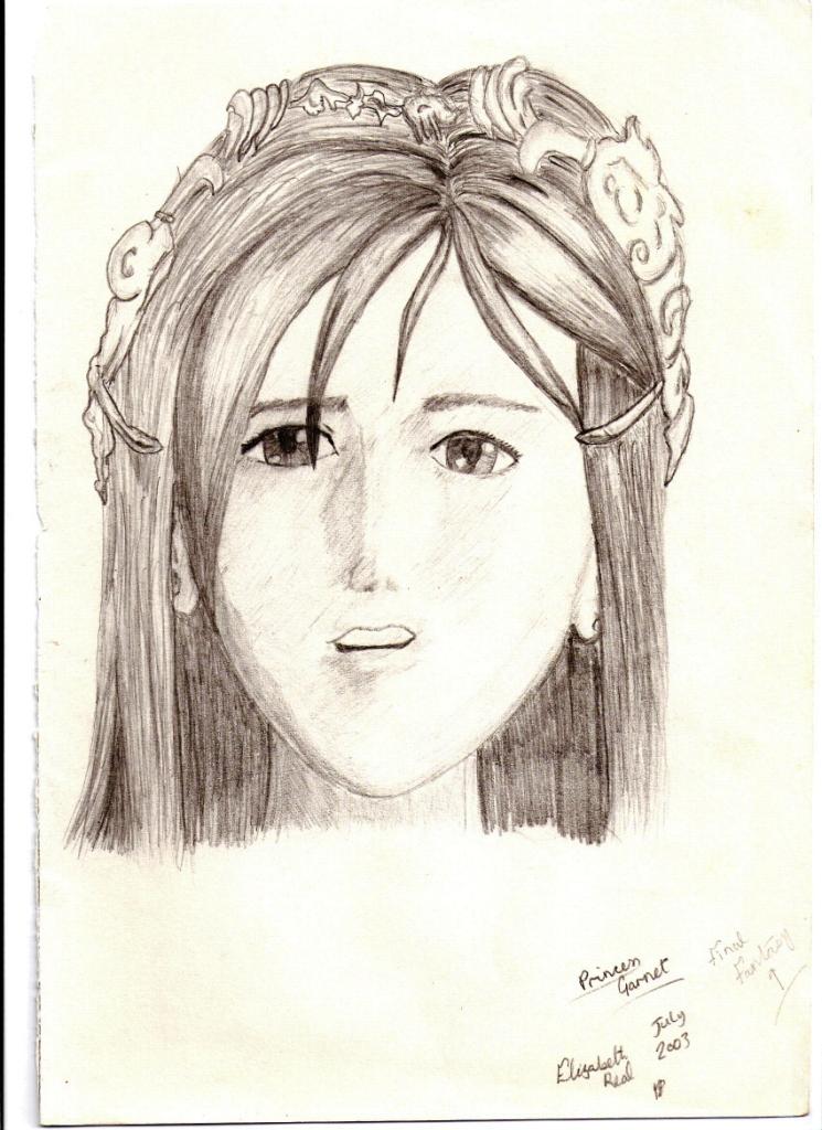 Princess Garnet by 320GingerRikku