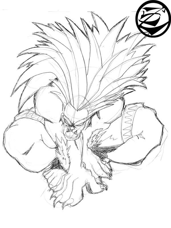 blanka sketch by 5439