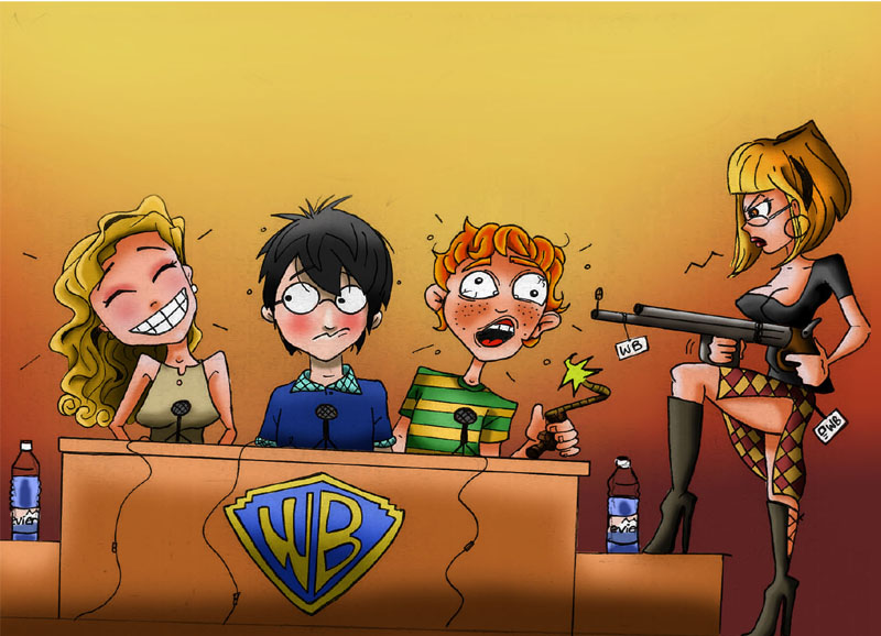 Harry potter hold up by 5439