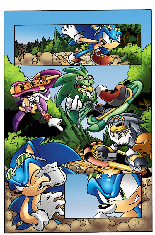 Riders-Enter the Rogues ColoreD by 5439