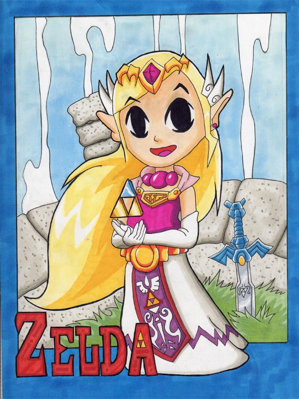 Zelda WW Copic by 5439