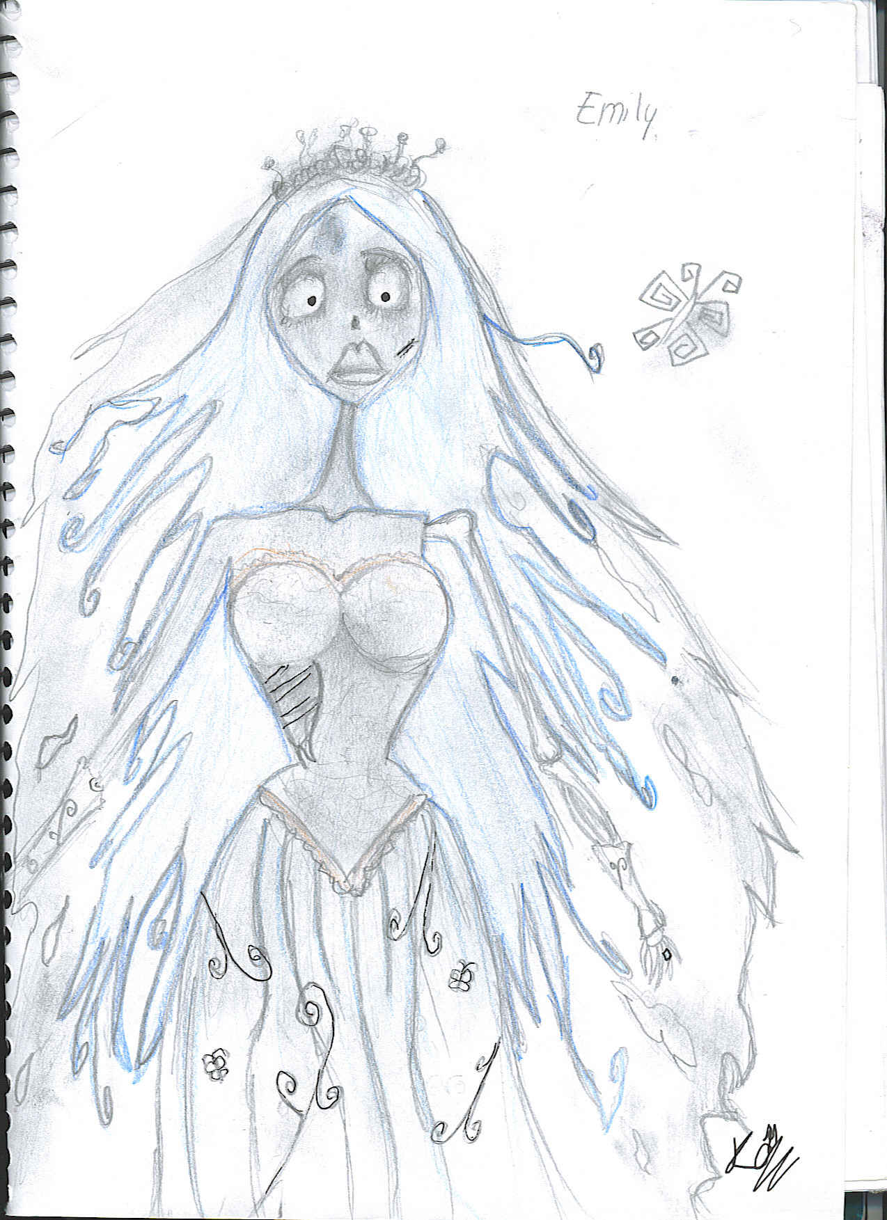 coloring pages corpse bride - free coloring pages of m and bride