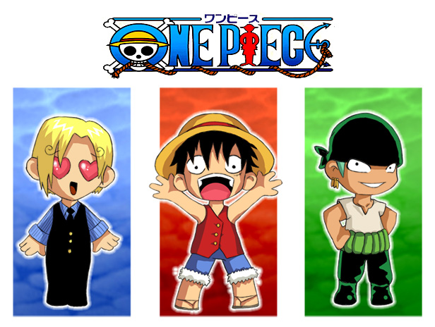 One Piece Chibis by AHE