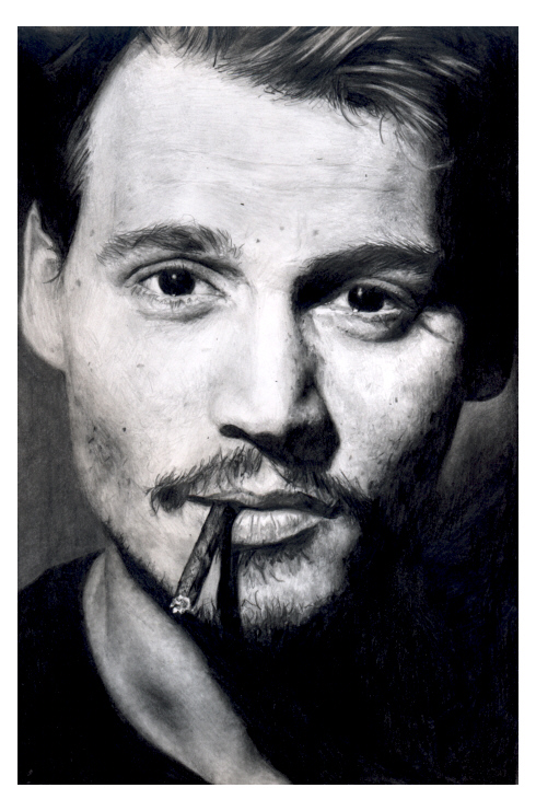 Johnny Depp by AHE