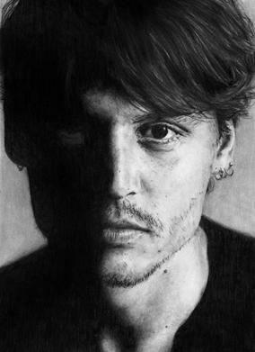 Johnny Depp II by AHE