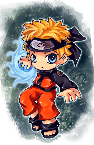 Naruto by AHE