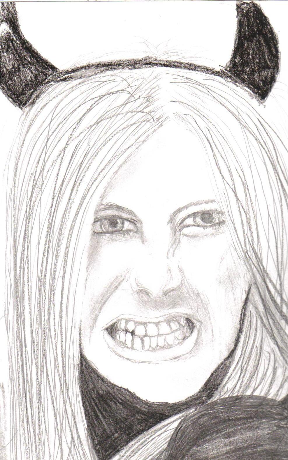 Avril Lavigne by AMK555