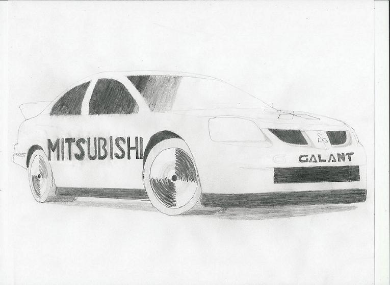 NASCAR Galant by ARTCAR