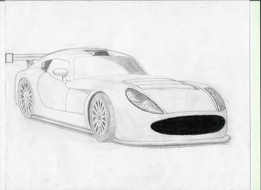 Marcos TSO-R Front View by ARTCAR