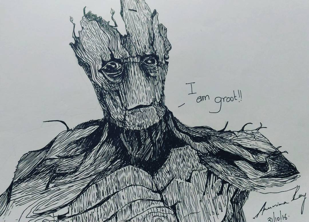 groot by ARUNIMA