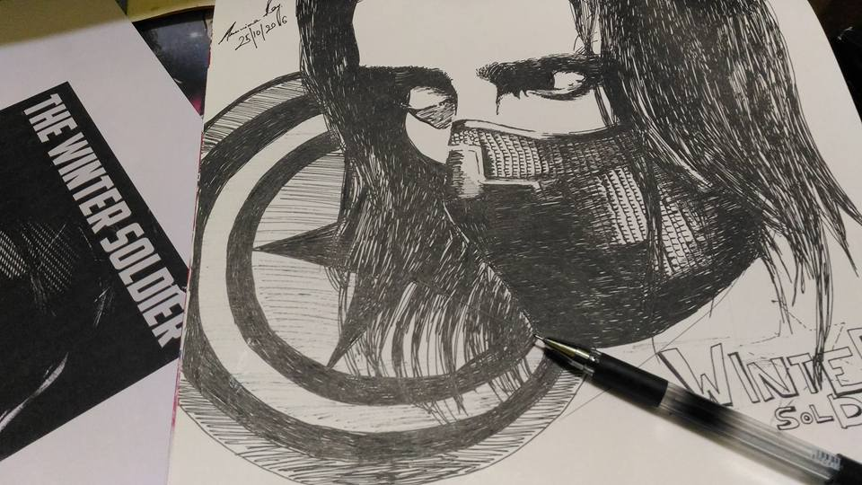 THE WINTER SOLDIER by ARUNIMA