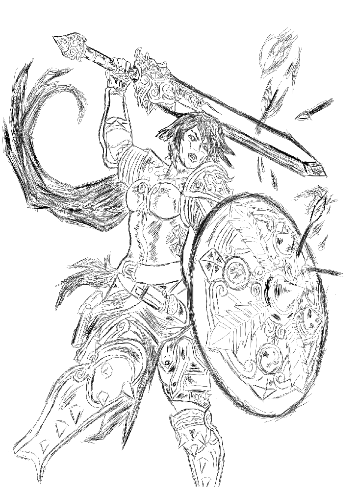 SMITE - Bellona - Goddess of War by Aeeso