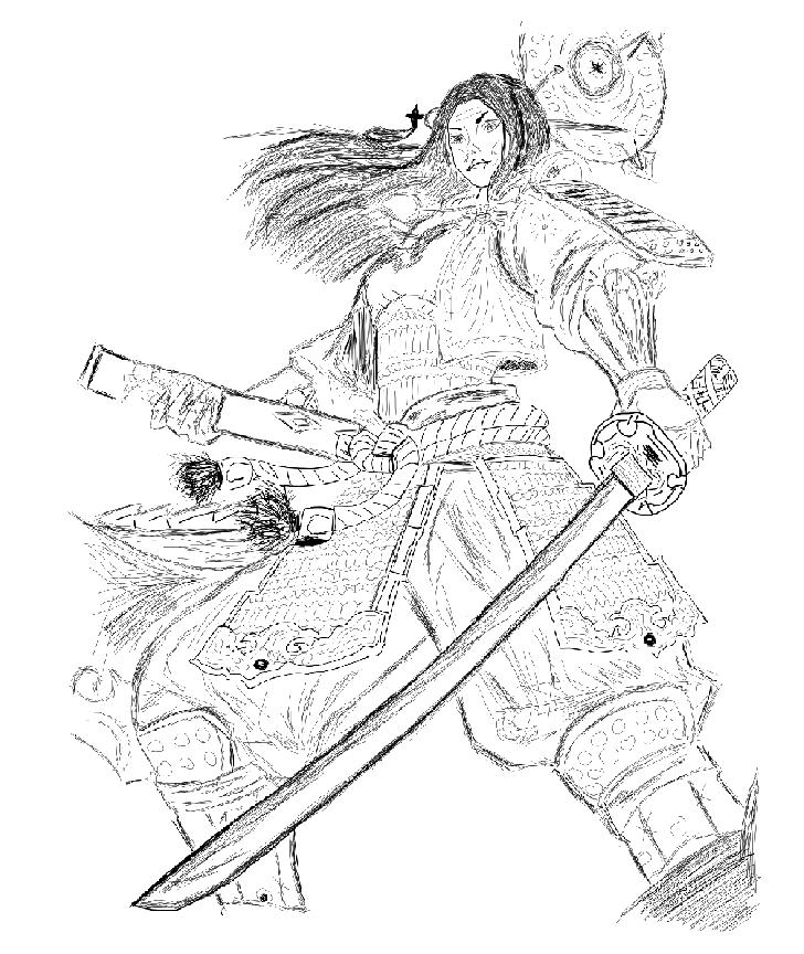 SMITE - Amaterasu - Goddess Of The Sun by Aeeso