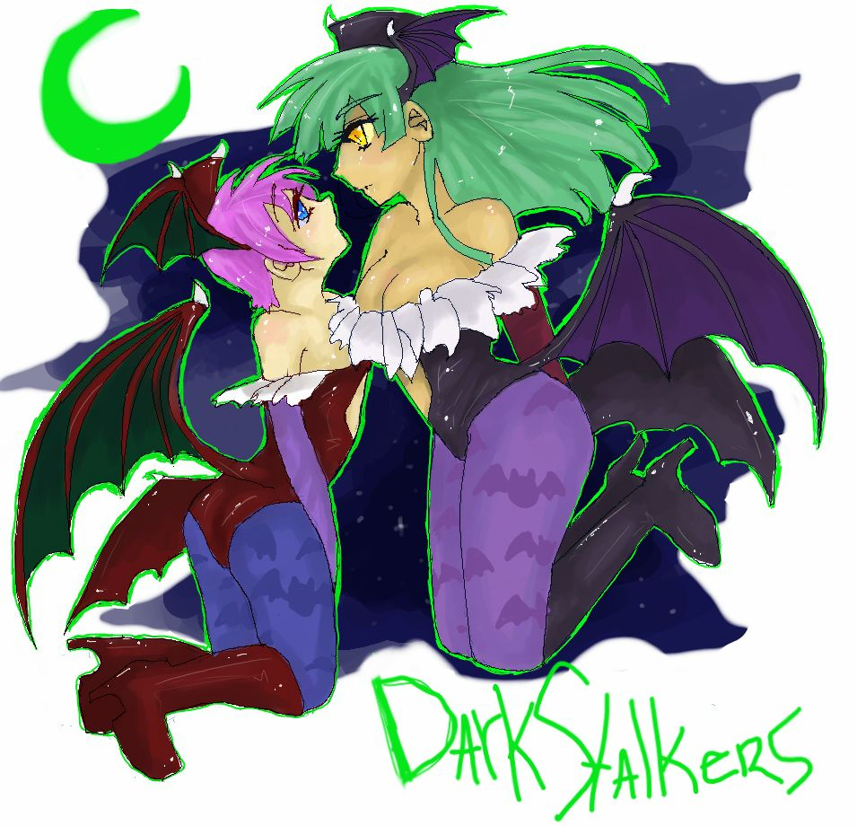 Lilith and Morrigan. by Aesthetic