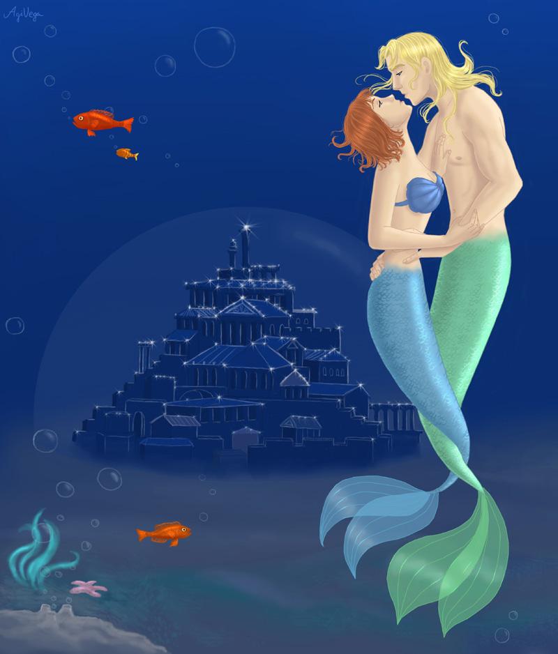 Underwater Romance by AgiVega