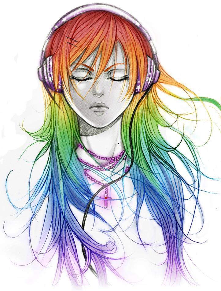 rainbow rainbow rainbow by AikaXx