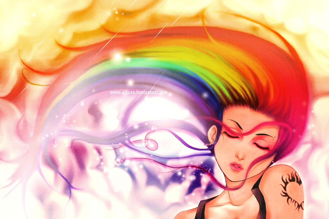 Like a Rainbow BG by AikaXx