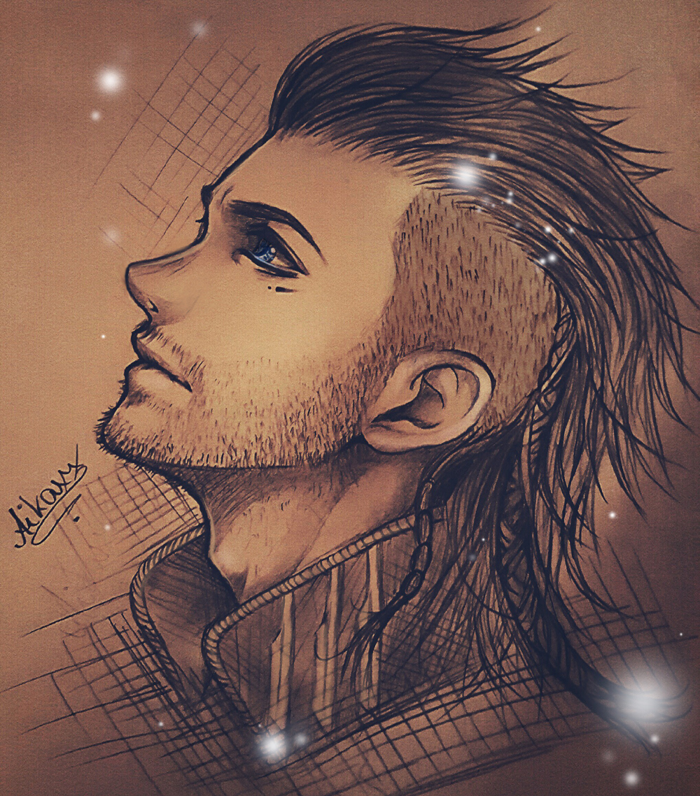 Nyx Ulric sketch - Final Fantasy XV Kingsglaive by AikaXx