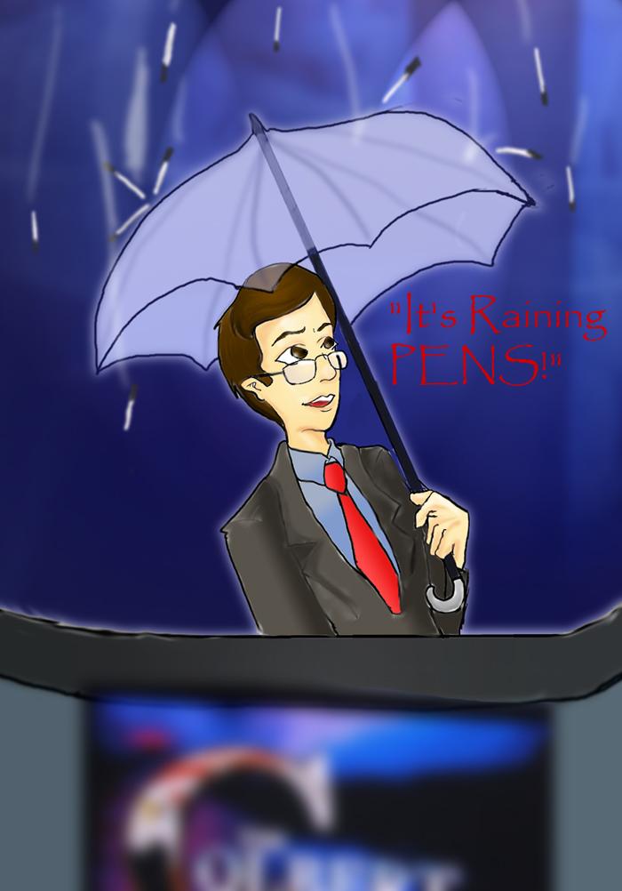 It's Raining Pens! by Aiwen_Chan