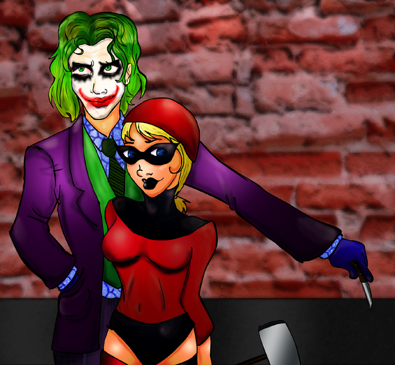 Mister J. and Harley by Aiwen_Chan