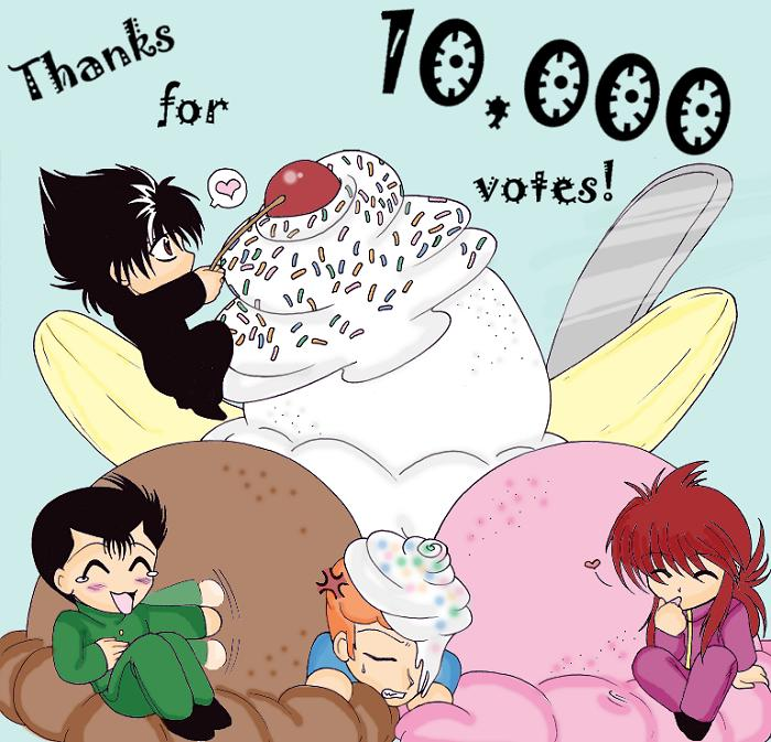 Thanks for the Votes! by Akane_The_Fox