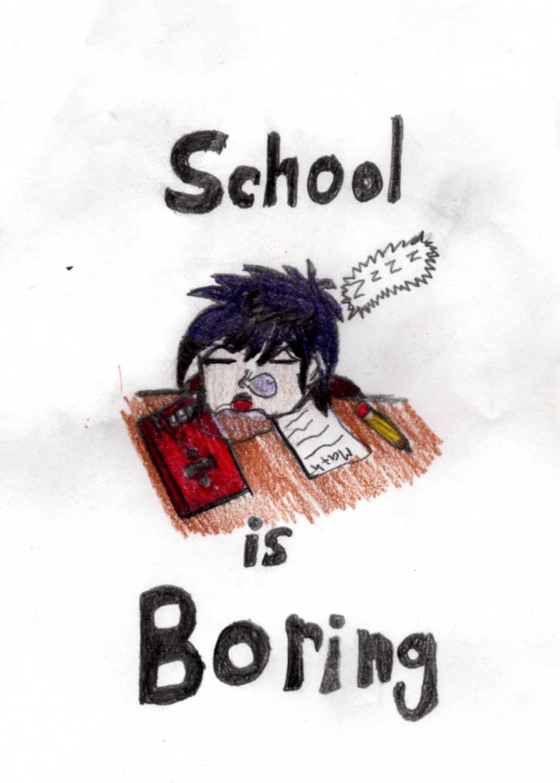 School is boring by akanelover23 fanart central