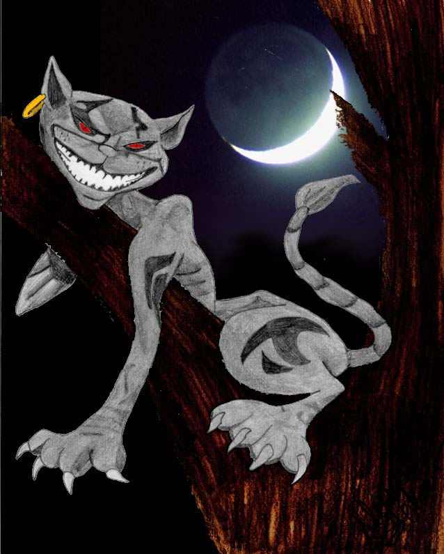 Cheshire Cat *redone* by Albels_Girl