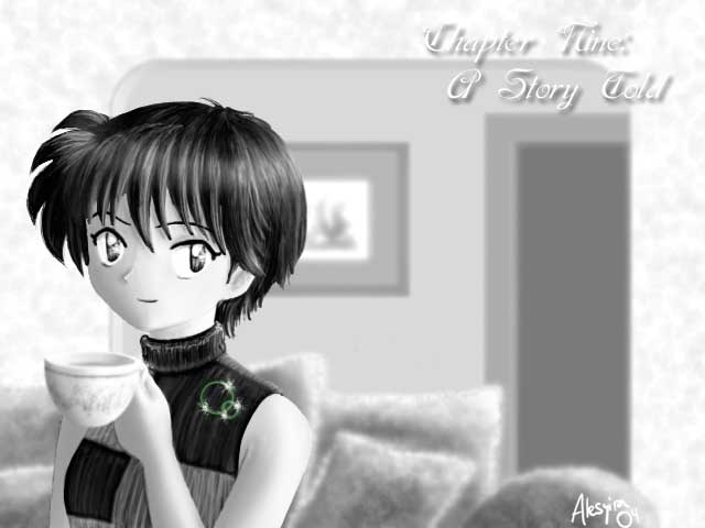 A Story Told (Rin, grown up) by Alesyira