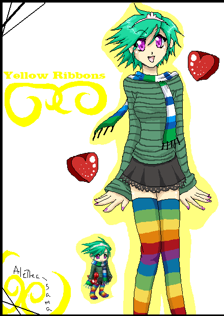 Gaia: YellowRibbons by Alethea