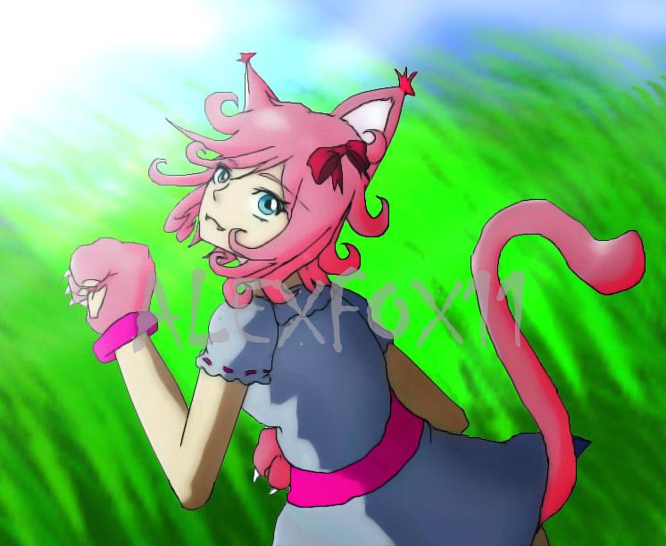 NEKO CAT GIRL by AlexFox11