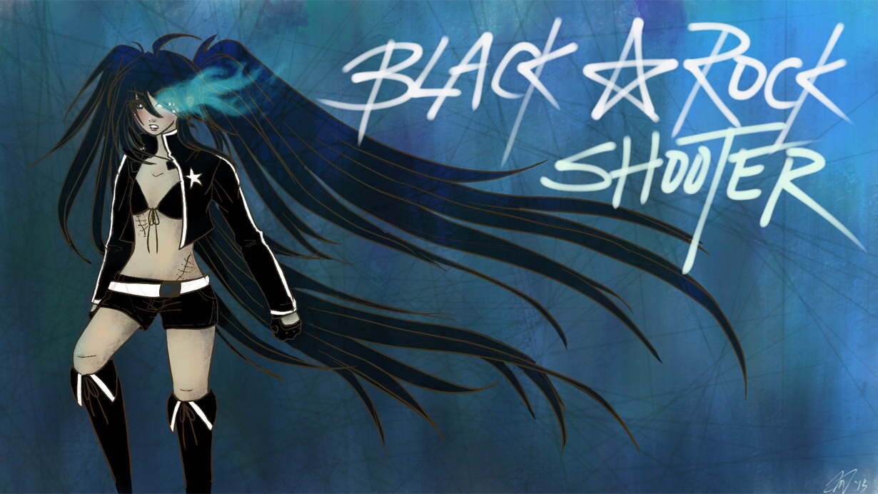 Black Rock Shooter by Alexis_Hoheimer